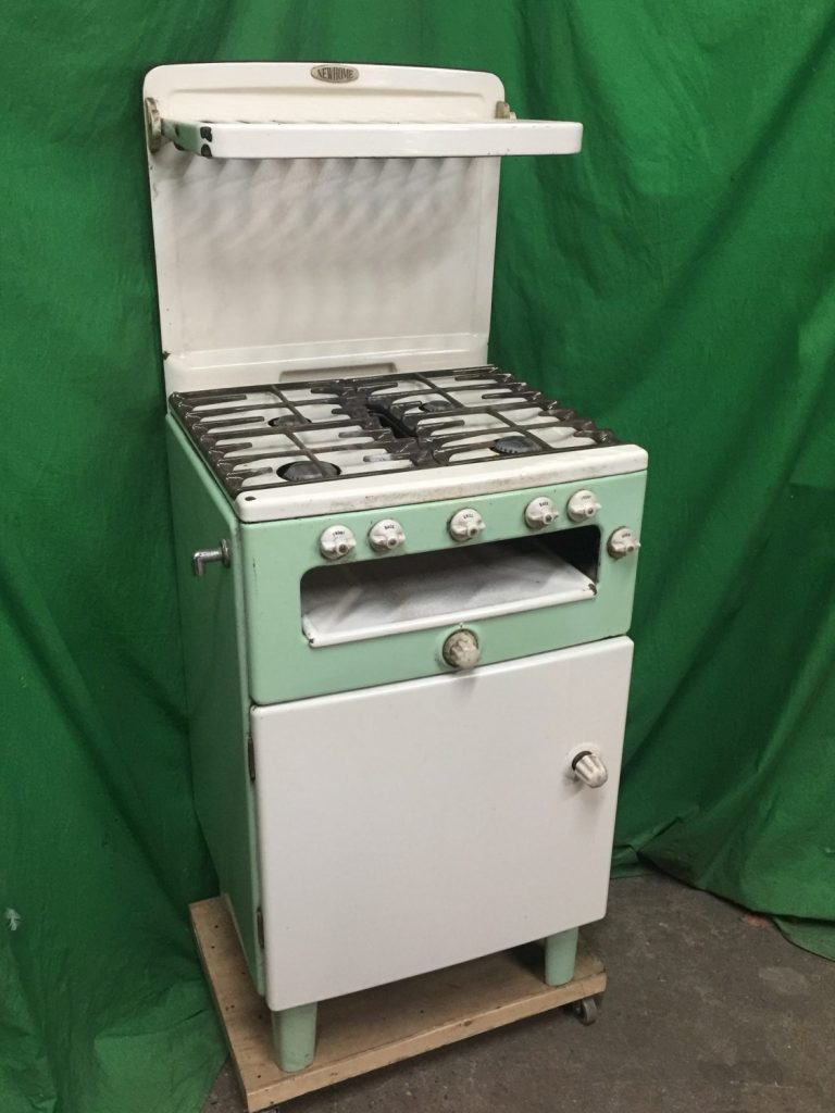 Thbcggc01 New Home Green And Cream Gas Cooker With Eye