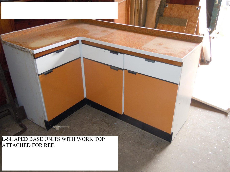 Thbohygenakit01 Hygena Orange And White Kitchen